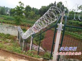 爬坡金属网片防护栅栏35-65度