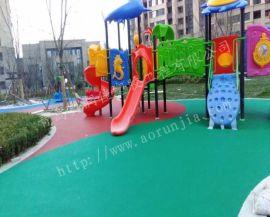 幼儿园塑胶地面-13MM塑胶
