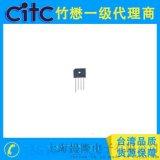 台灣CITC 桥堆KBU4005~KBU410 4A微型玻璃钝化单相桥直插整流器
