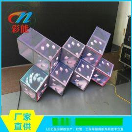 魔方DJ台 酒吧LED异形屏 彩能光电