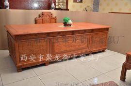 西安明清古典/仿古/紅木傢俱/辦公桌書桌電腦桌