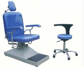 耳鼻喉科液压椅子,五官科椅子,耳鼻喉病人椅手动