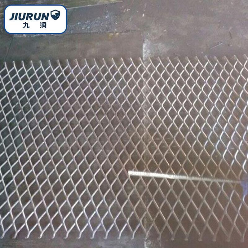 金属冲压钢板网 重型钢板网片  防滑冲压钢板网