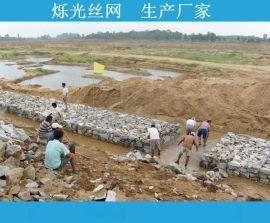 高质量镀锌石笼网箱 绿色固滨笼绿滨垫石笼网规格