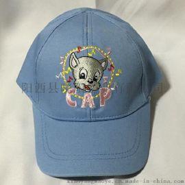 迪士尼儿童棒球帽 外贸出口高档绣花鸭舌帽 日本原单
