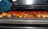 导热油加热全自动猪蹄油炸设备