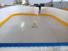 中小學用室外冰球場圍擋 可澆冰冰球場圍欄生產廠家