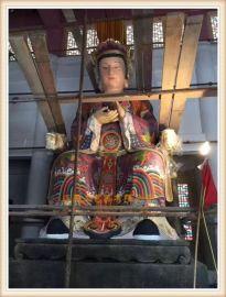 玻璃钢神像雕塑厂家,zy1177玻璃钢三宵娘娘厂家