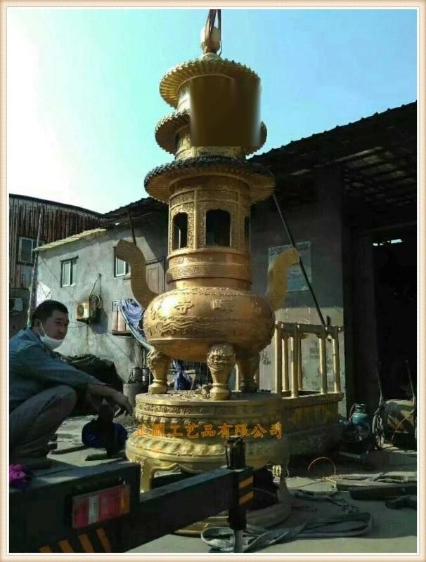 浙江铜宝鼎铸造厂家,温州大型铸铜宝鼎生产厂家