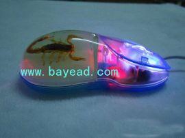 貝雅昆蟲琥珀滑鼠