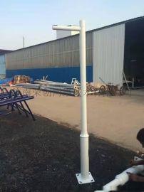 交通标志杆 八角标志杆 小区 道路 厂区监控杆