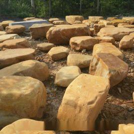 广东平面黄蜡石  全国各地 园林造景好石材