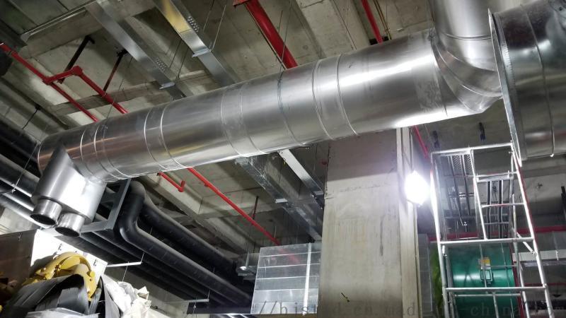 供應及安裝三聯供系統雙層不鏽鋼保溫煙囪
