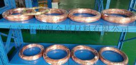 现货导电紫铜丝 软态紫铜线 T2紫铜线 无氧铜线