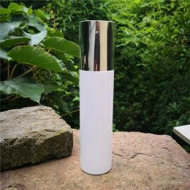 透明喷雾瓶pet乳液瓶 圆形乳液瓶 白色乳液瓶