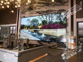 博视BSV 55寸液晶拼接大屏如何应用于售楼中心