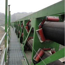 管状皮带机不锈钢输送机 重型