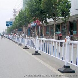 广东湛江不锈钢人行道围栏道路边缘锌钢护栏厂家