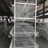 厂家供应四层五门层叠蛋鸡笼