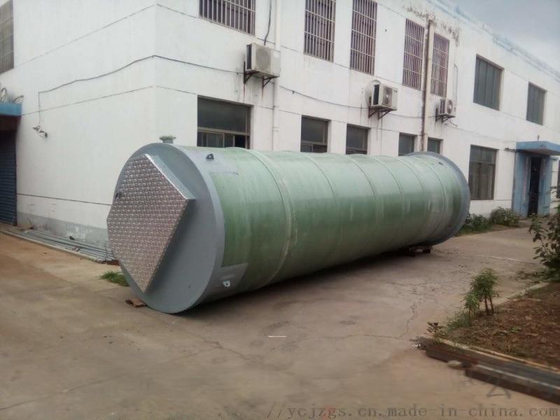 金泽一体化污水提升泵站