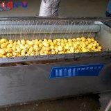 鑫富供应 土豆去皮清洗机 洋葱毛辊去皮清洗机