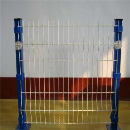 小区停车场三角折弯铁丝网护栏网