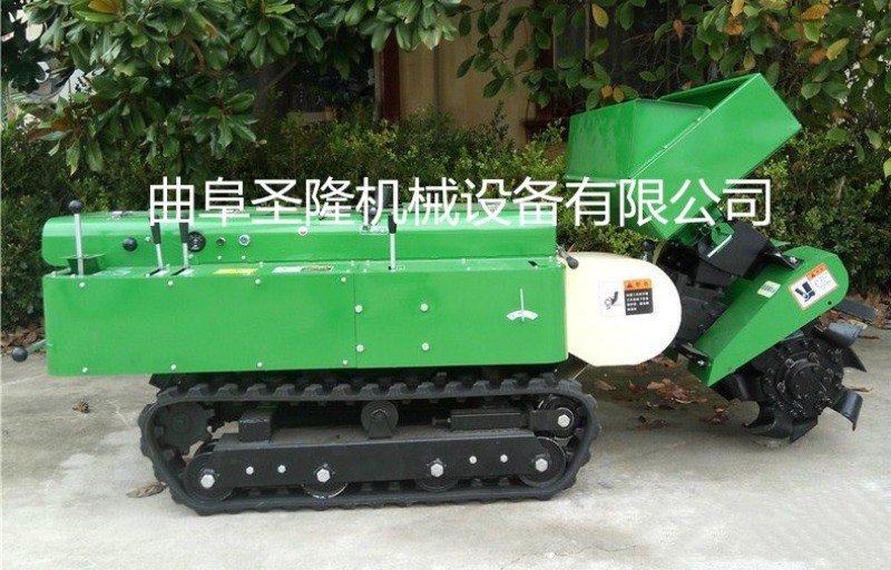 田園開溝施肥一體機,自走式園林管理機