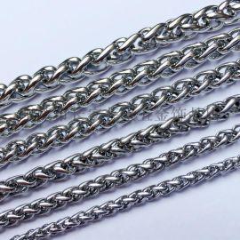 花篮链 定制加工不锈钢链条 五金饰品配件