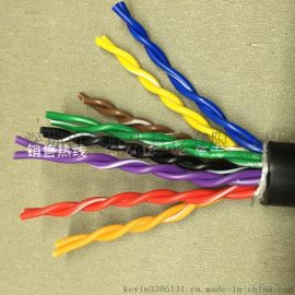 RS485双绞屏蔽电缆,RS485编码器电缆RVSP4*2*0.3