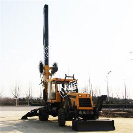 华夏巨匠XWL-13.5轮式旋挖钻机民用小型旋挖机