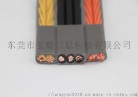 电梯电缆 扁形电梯电缆 带**视频扁形电梯电缆