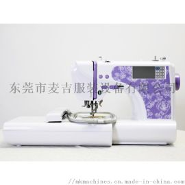 缝纫机 工业刺绣机 家用绣花机配带多功能电脑
