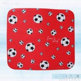紅底足球滑鼠墊(AW-024)
