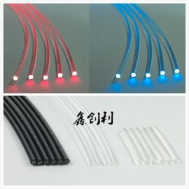 纤芯内径1.5MM外径3.0MM通信塑料光纤传感光纤光纤放大器红外光纤