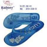PVC水晶拖鞋(XFT-239)