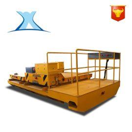 大吨位搬运车车间过跨车电动移动式升降平台车