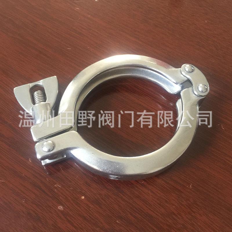 不锈钢精铸双销卡箍 铰链单开式Tri-Clamp 13SF