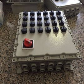 BXMD鋁合金防照明箱