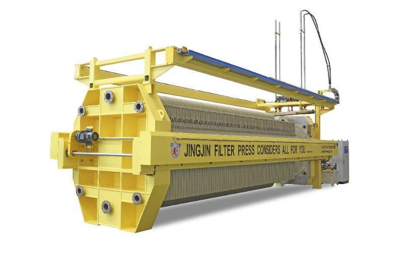 山东景津厢式压滤机、304不锈钢板框精密过滤机