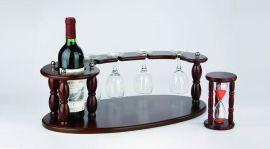 木工艺品-红酒架沙漏 (JJ003/W315)