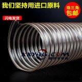 鑫翔宇廠家批發pu透明鍍銅鋼絲伸縮吸塵通風軟管,集塵管,除塵管1