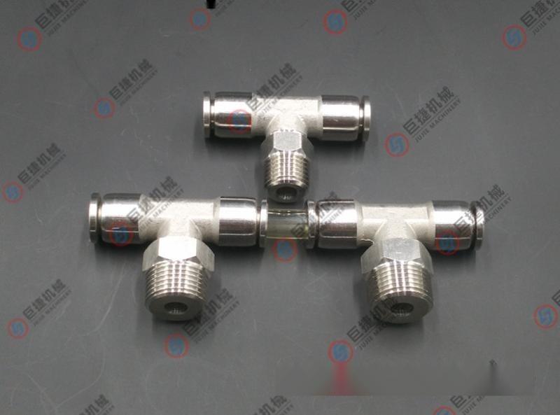 不锈钢PB快插三通接头 01 02 03 04不锈钢气管接头 气源接头