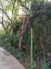 竹子庭院灯,仿真竹子LED庭院灯,中晨竹子庭院灯