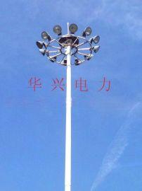 供應平魯安太堡露天煤礦35KV電力鋼杆、高杆燈杆及礦山照明燈塔