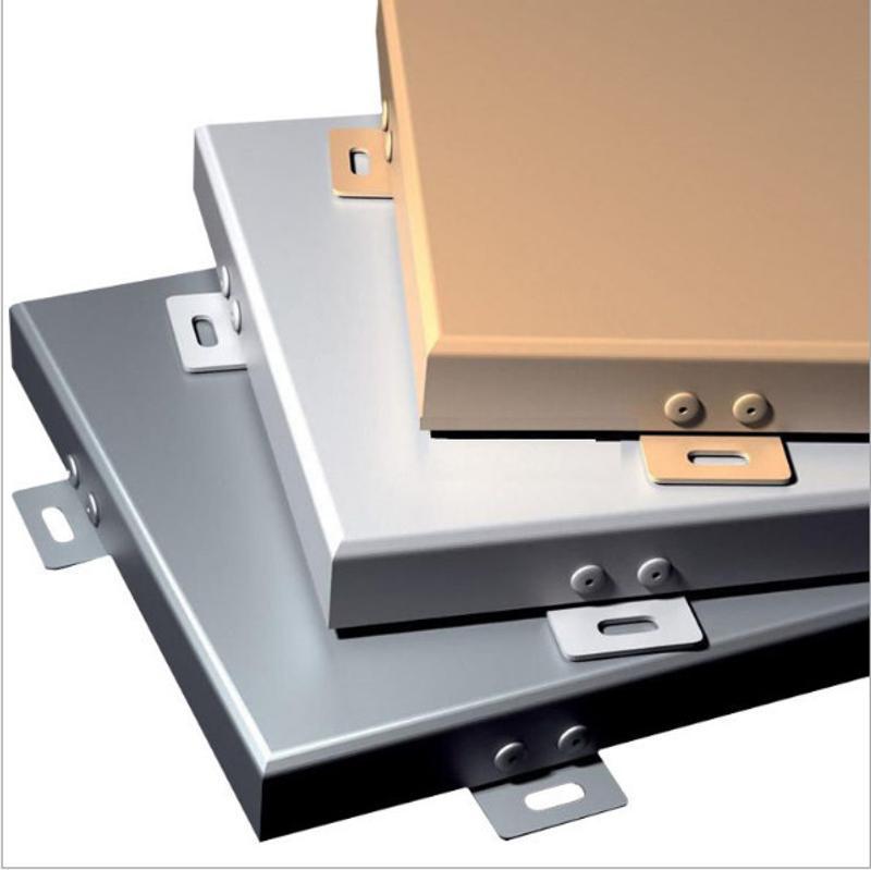 幕墙材料铝单板度工厂加工定制氟碳防腐铝单板