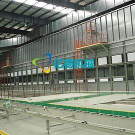 机械产品水旋喷漆室 技术** 大型水性水幕喷漆房工程