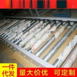 现货销售潍坊滚筒输送机 橡胶滚筒传送机 非标皮带式输送机