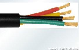 厂家直销  铜芯聚氯乙烯绝缘聚氯乙烯护套安装用软电缆AVVR 4X0.3