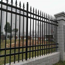 防护锌钢护栏、金属围墙防护栏、镀锌管围墙护栏
