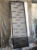 管拼无缝连接不锈钢屏风乱纹古铜色屏风镜面隔断设计
